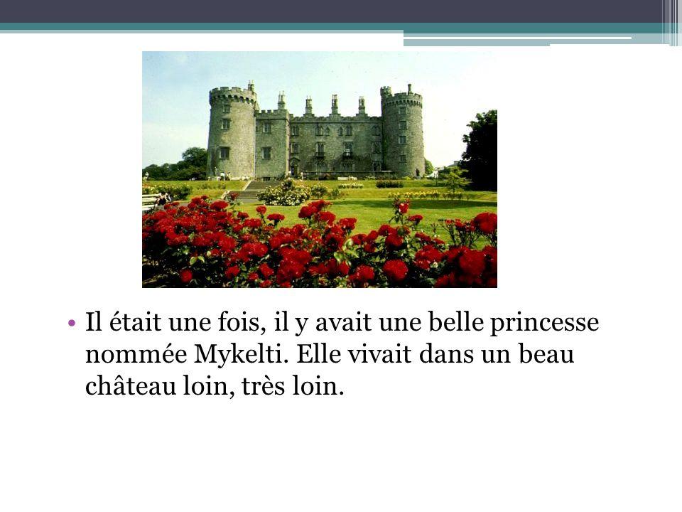 Il était une fois, il y avait une belle princesse nommée Mykelti. Elle vivait dans un beau château loin, très loin.