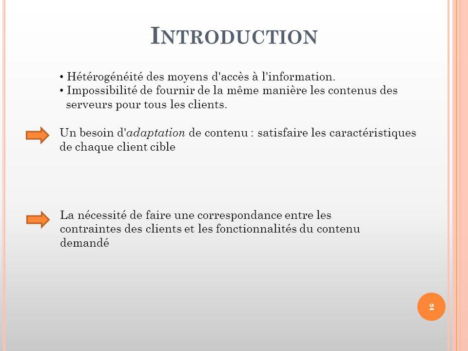 NAC ( N EGOCIATION AND A DAPTATION C ORE ) Base des Profils Base des Profils Module d'Adaptation et de Négociation (ANM) Proxy de Communication Système de Gestion des Profils Contenu Multimédia Contenu Multimédia Module de Contexte Utilisateur UCM 23