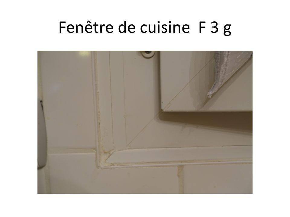 Fenêtre de cuisine F 3 g