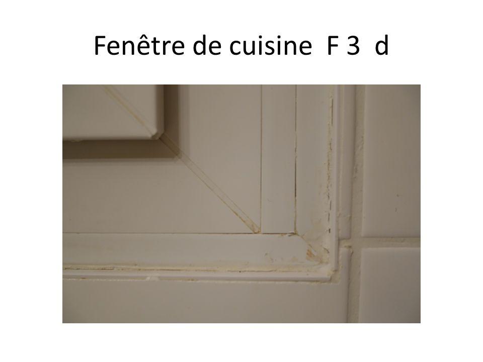 Fenêtre de cuisine F 3 d