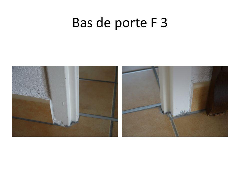 Bas de porte F 3