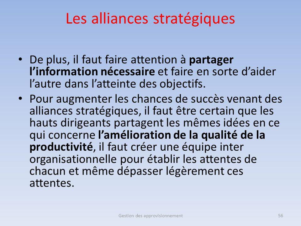 De plus, il faut faire attention à partager l'information nécessaire et faire en sorte d'aider l'autre dans l'atteinte des objectifs. Pour augmenter l
