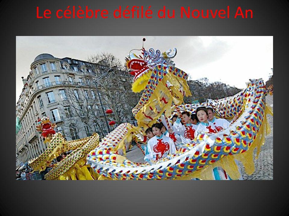 Le célèbre défilé du Nouvel An