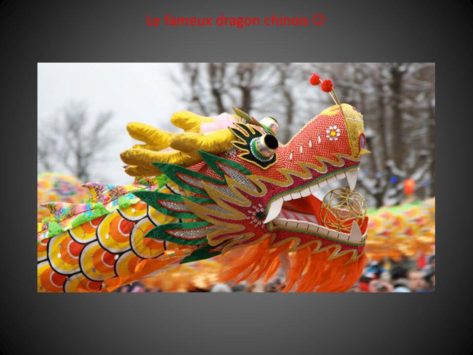 Le fameux dragon chinois