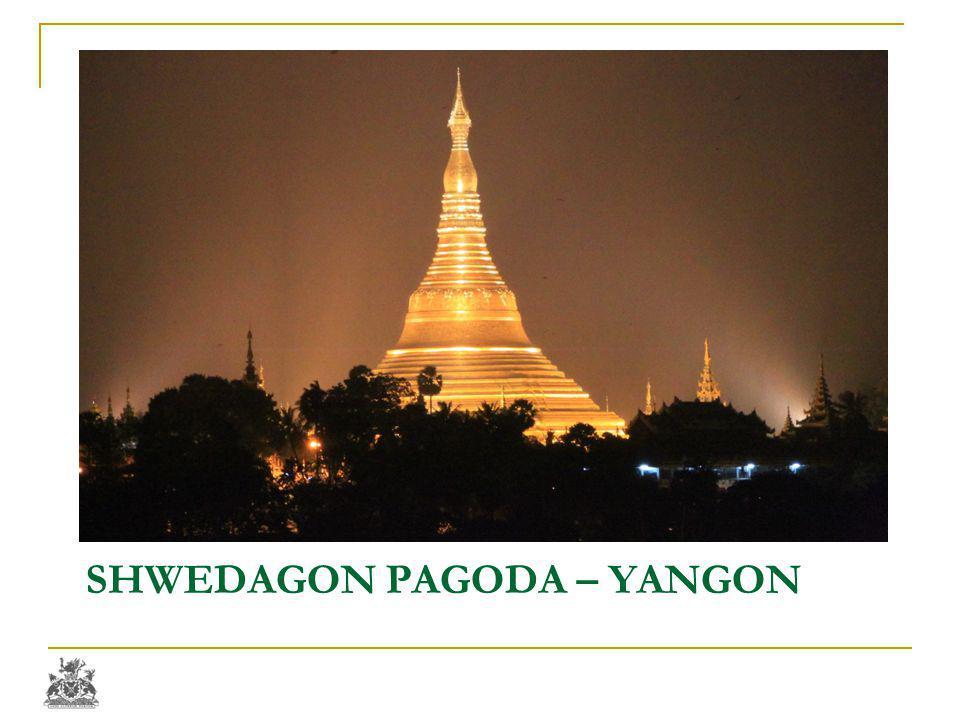 SHWEDAGON PAGODA – YANGON