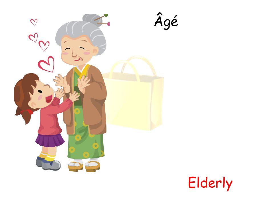 Âgé Elderly