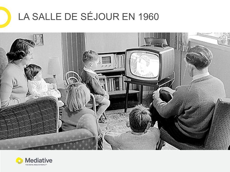 LA SALLE DE SÉJOUR EN 1960
