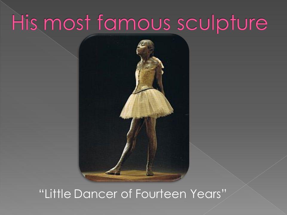 """Little Dancer of Fourteen Years"""