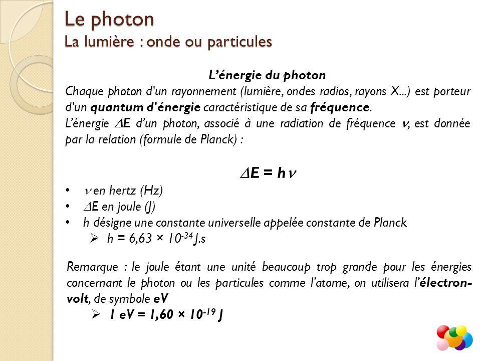 Quantum d'énergie définition