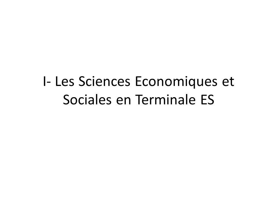 Remarques générales : - 5 heures de cours - 1 heure de TD (AP) par semaine en demi- groupe - coefficient 7 (et 9 pour les spécialistes : Economie approfondie ou Sciences sociales et politiques)