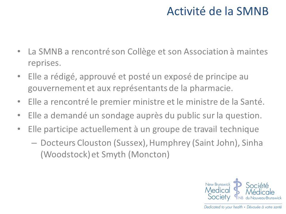 Activité de la SMNB La SMNB a rencontré son Collège et son Association à maintes reprises.