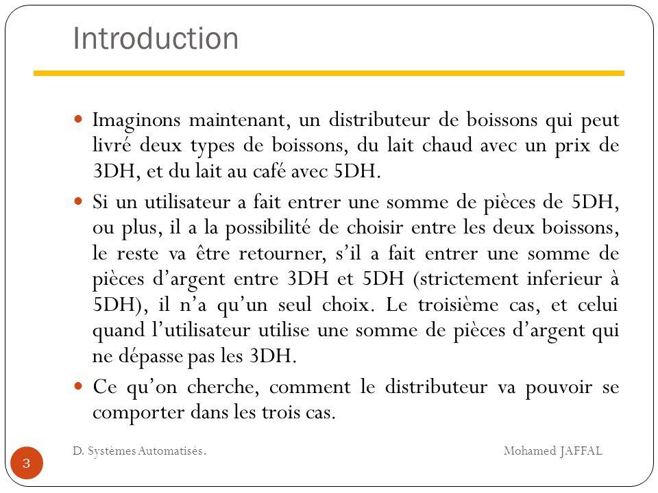 Introduction Pour résoudre ce problème, il faut programmer le distributeur.