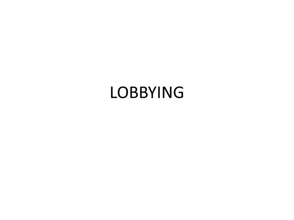 Définition de lobby et de lobbying Etymologie : anglicisme.
