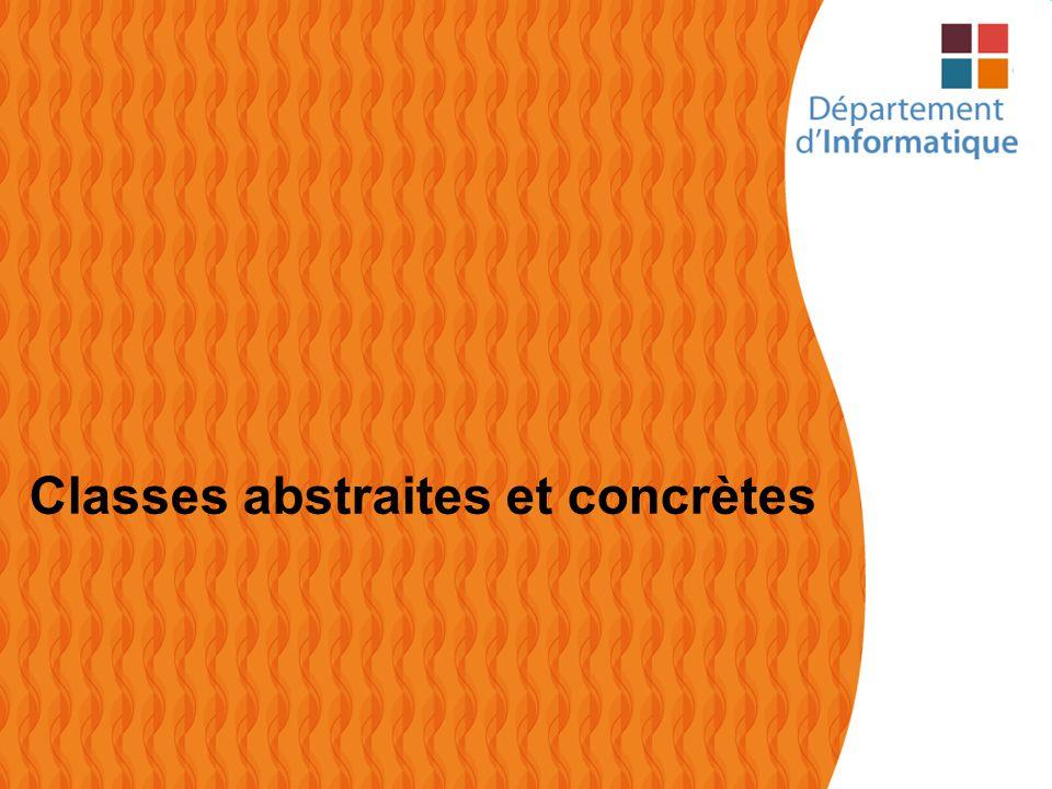 43 Classes abstraites et concrètes