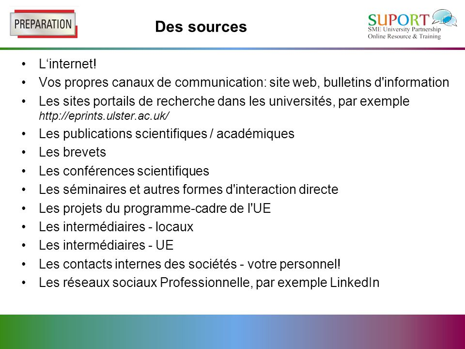 Des sources L'internet.