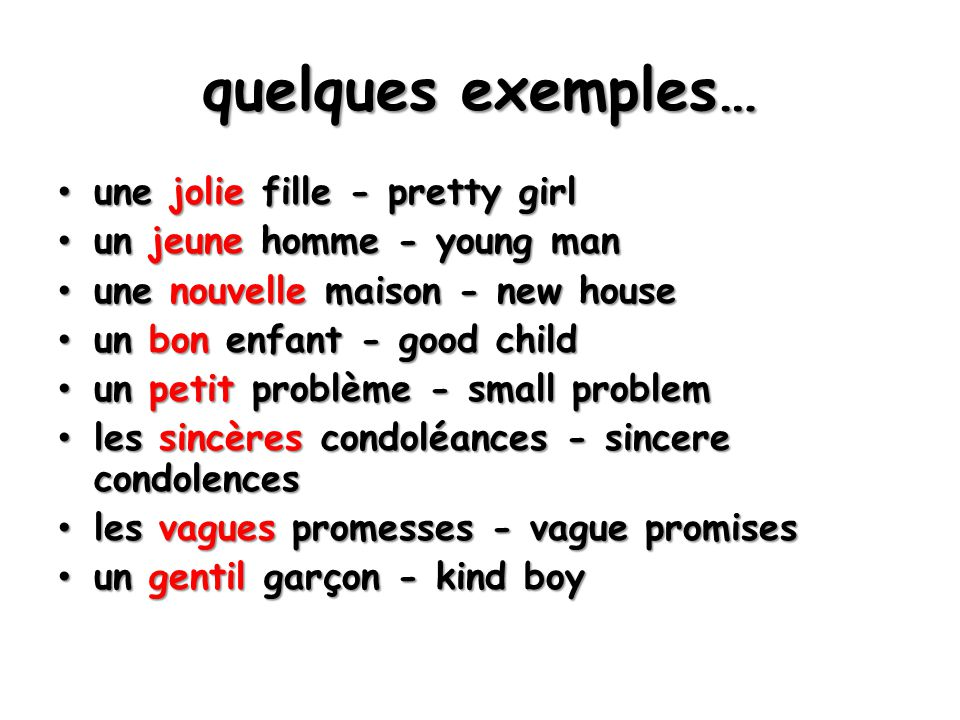 deux verbes ensemble When 2 verbs come together in the present tense, the second verb is always kept in the infinitive.