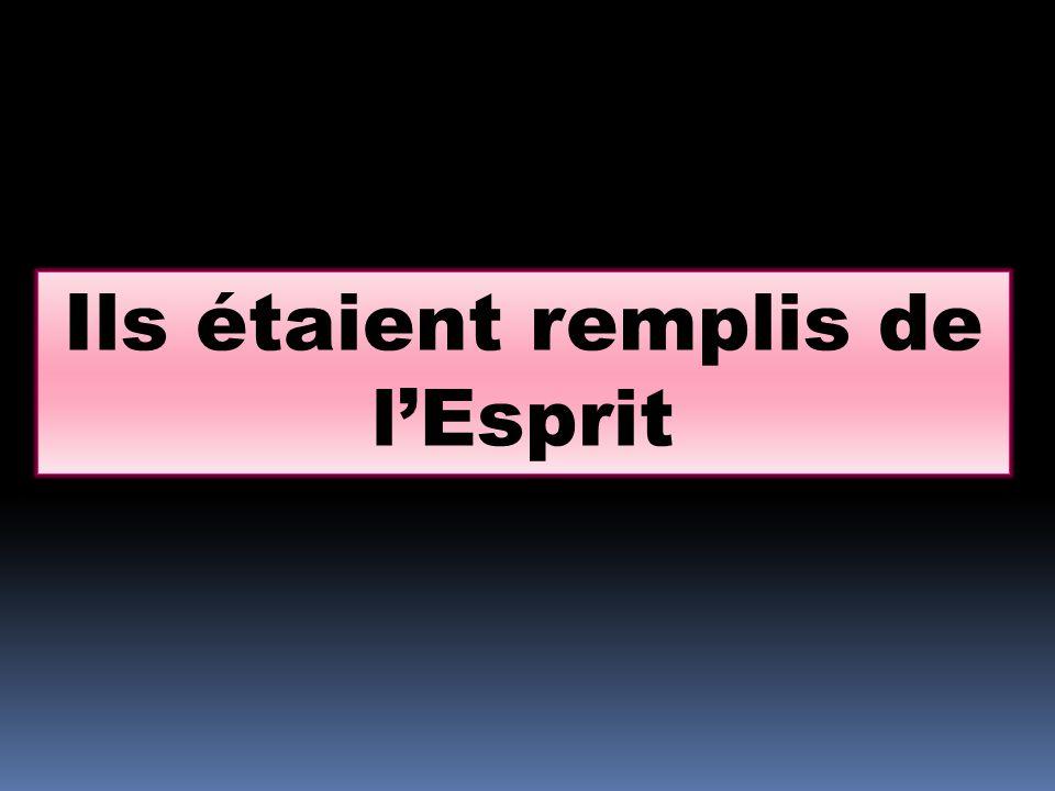 Luc 1.67: Zacharie, son père, fut rempli du Saint-Esprit, et il prophétisa, en ces mots…