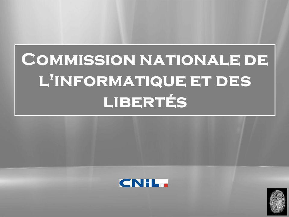 Commission nationale de l informatique et des libertés