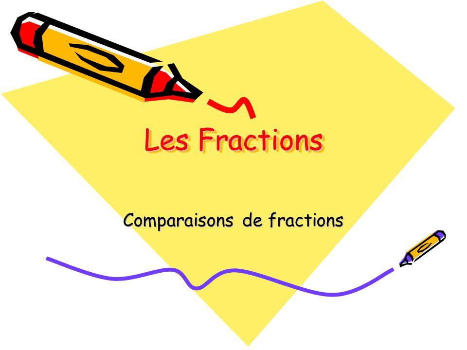 Quelle est la fraction la plus grande ? 1616 1 10 ou
