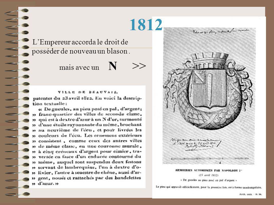 1573 La preuve : Des esquisses de fanions remontant à 1573 avec les premières armoiries de la Ville Mais elles furent pas reprises au XX° siècle pour …manque de MODERNISME certain