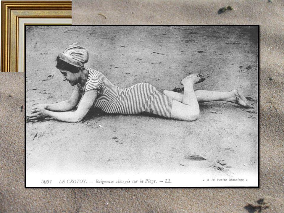 Quelques belles sur le sable allongées s'étirent langoureusement, la mine gourmande, exposant à l'objectif leur belles rondeurs.