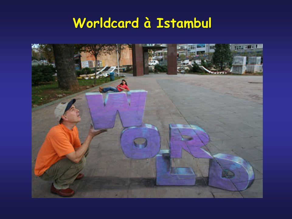 Worldcard à Istambul