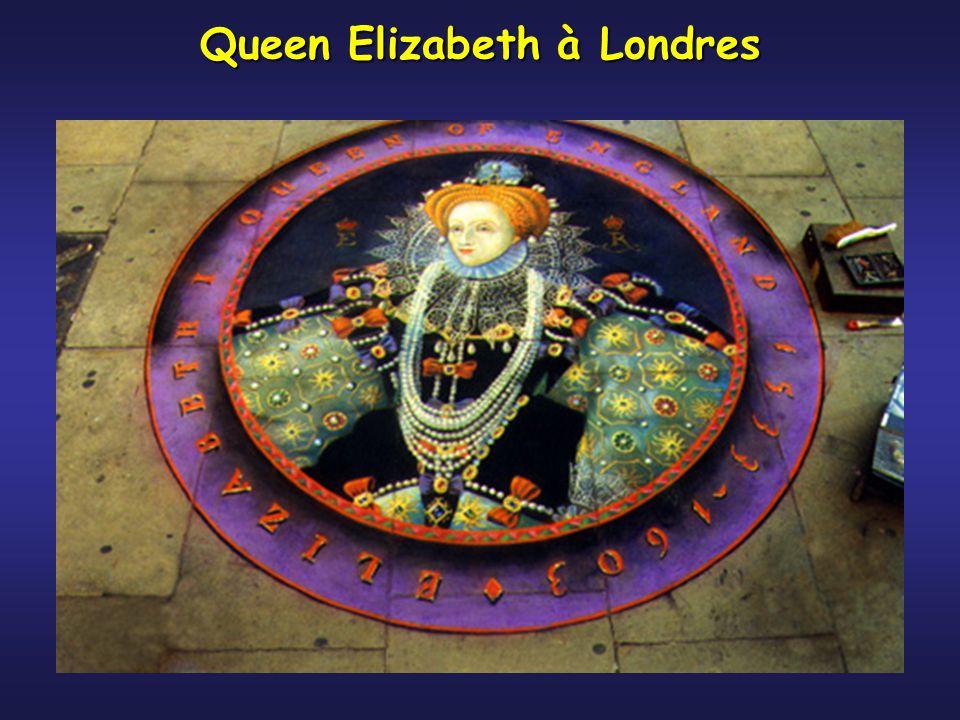 Queen Elizabeth à Londres