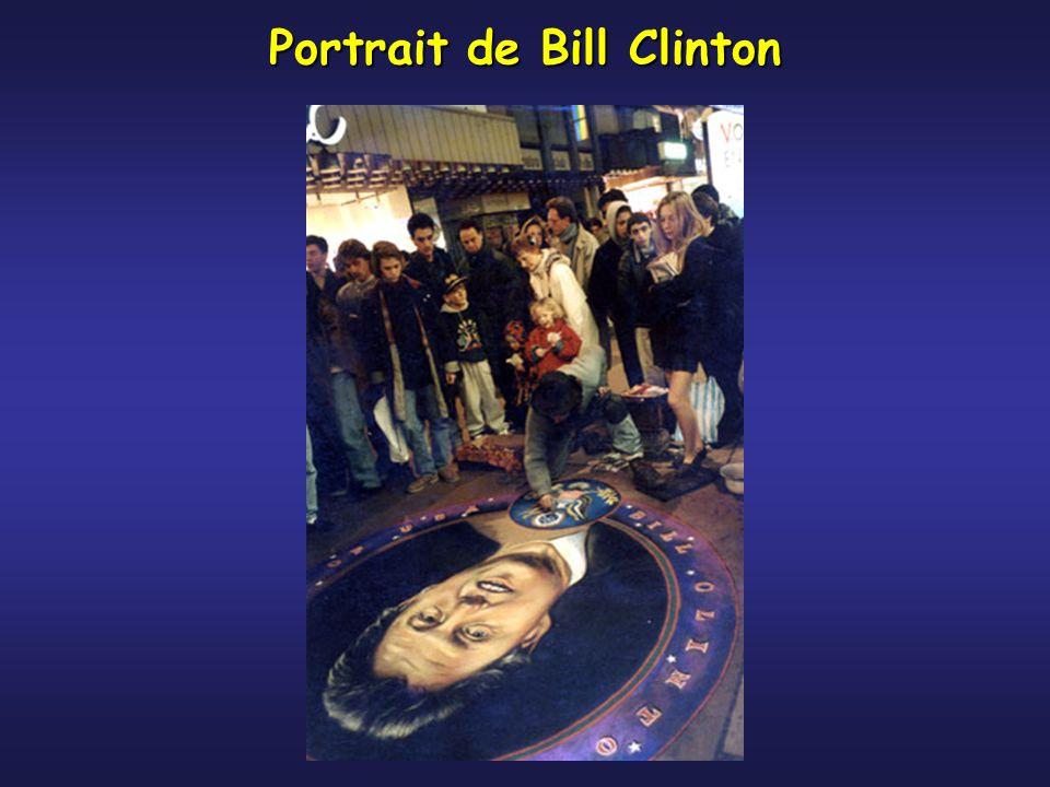 Portrait de Bill Clinton