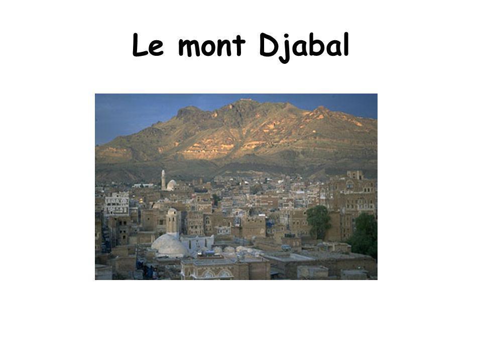 Le mont Djabal