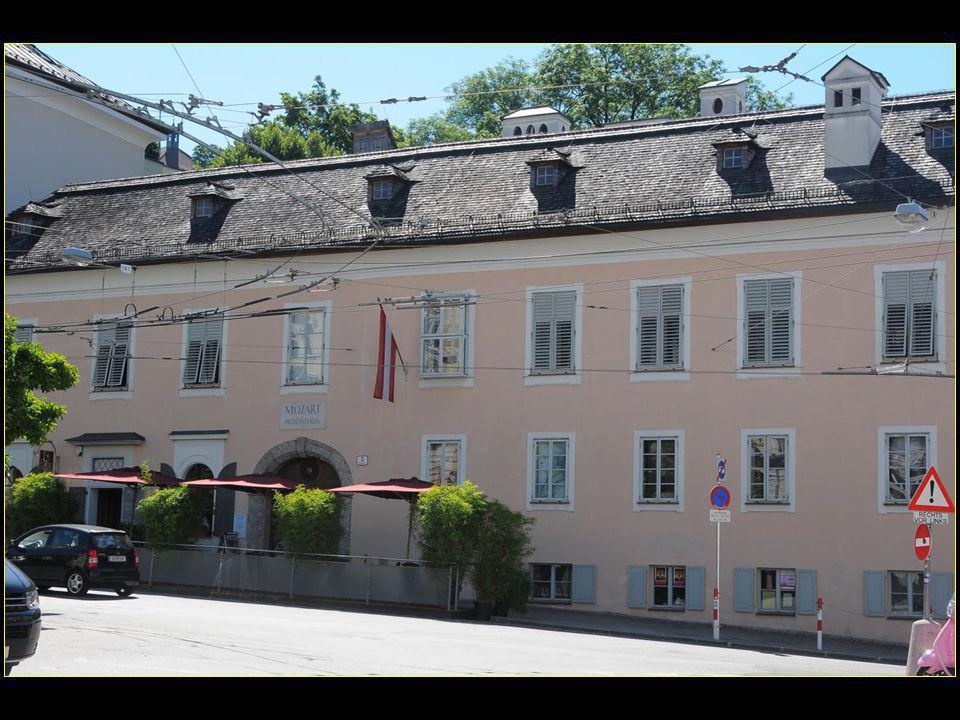 Wohnhaus La maison d'habitation de Mozart
