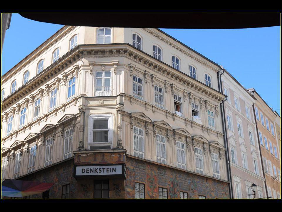 Salzbourg est célèbre pour avoir vu naître Mozart
