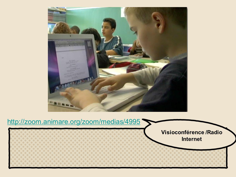 Visioconférence /Radio Internet http://zoom.animare.org/zoom/medias/4995