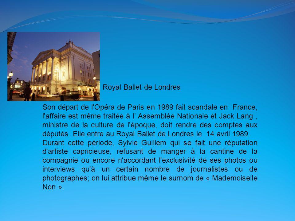 Son départ de l Opéra de Paris en 1989 fait scandale en France, l affaire est même traitée à l' Assemblée Nationale et Jack Lang, ministre de la culture de l époque, doit rendre des comptes aux députés.