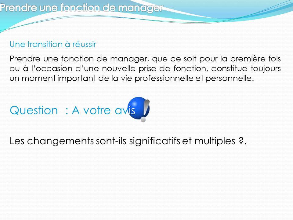 Le rôle du manager est de conduire chacun de ses collaborateurs et l'équipe au niveau de performance attendue.