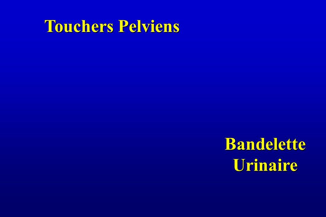 Touchers Pelviens Bandelette Urinaire
