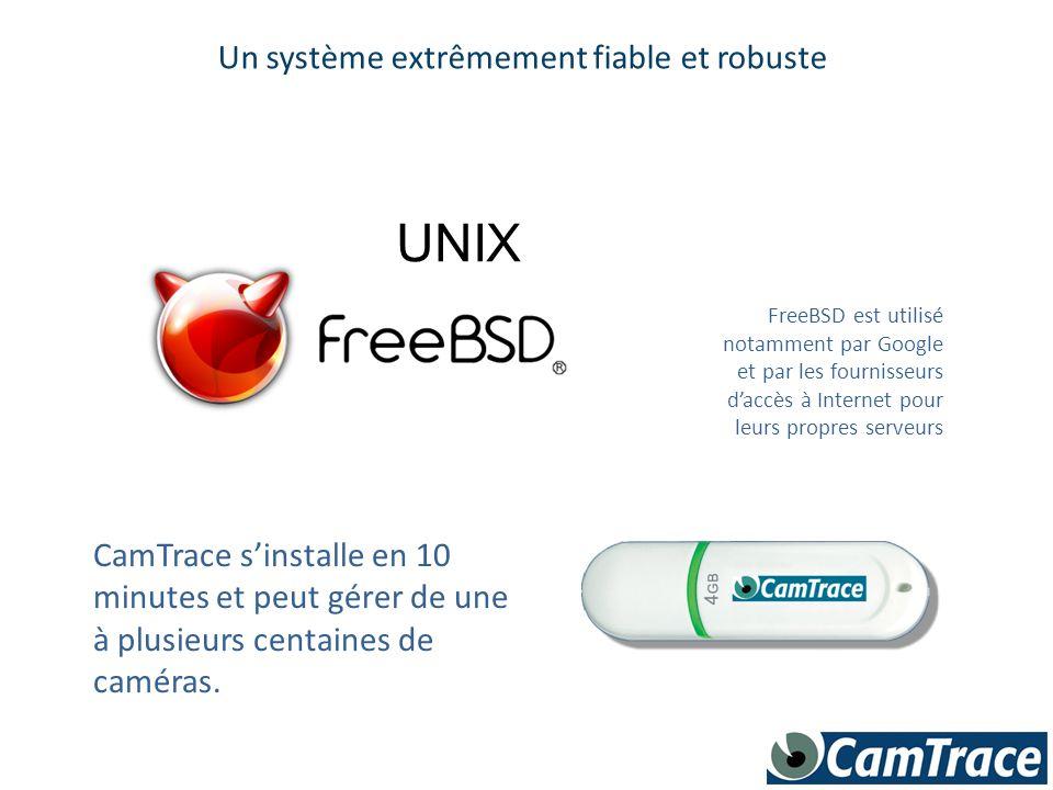 Un système extrêmement fiable et robuste FreeBSD est utilisé notamment par Google et par les fournisseurs d'accès à Internet pour leurs propres serveu