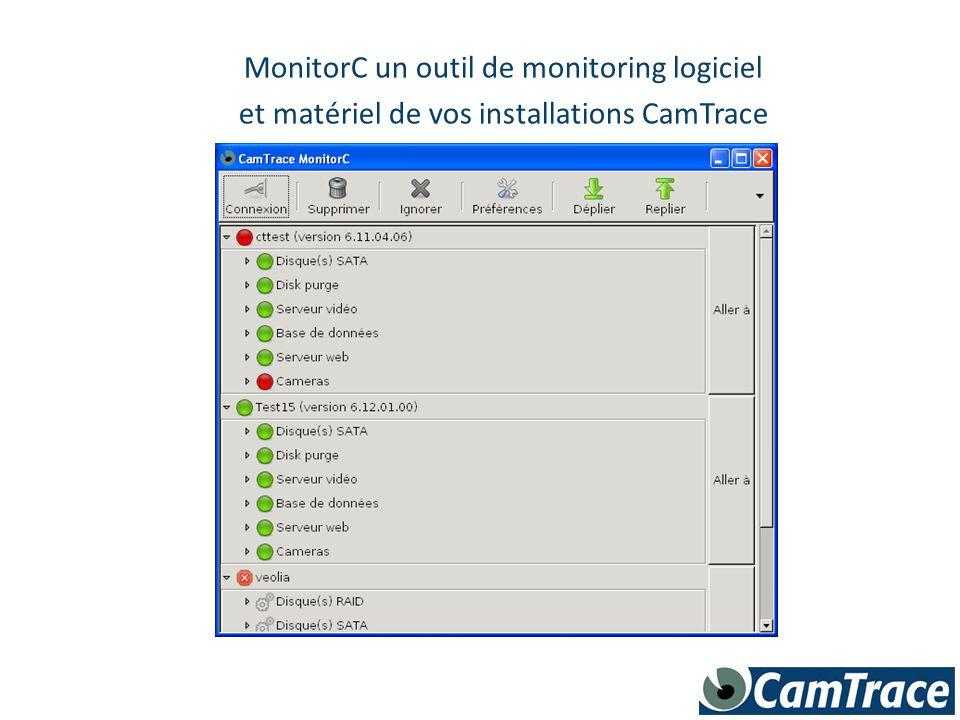 MonitorC un outil de monitoring logiciel et matériel de vos installations CamTrace