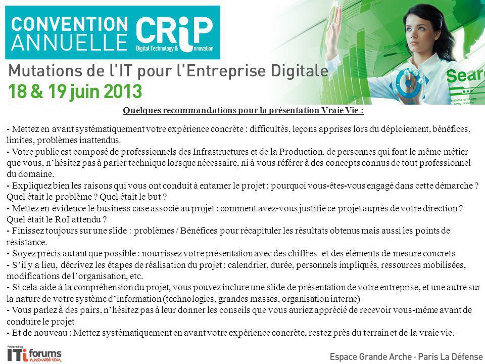 Accélérer les performances du stockage pour DevOps et le cloud François Tapin Directeur des Systèmes d'Information et des Moyens Généraux