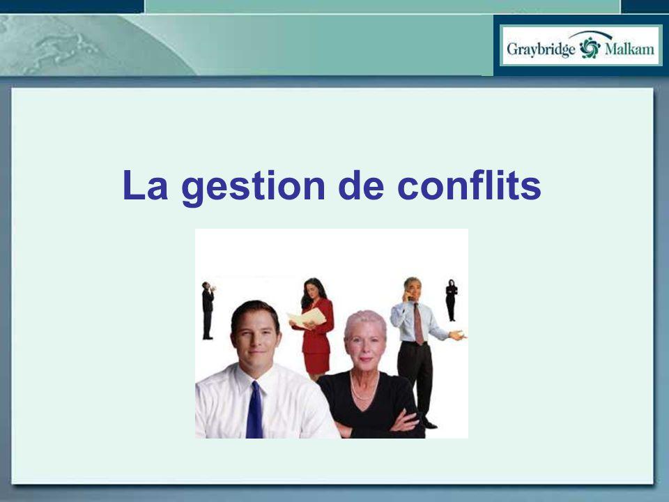 La gestion de conflits