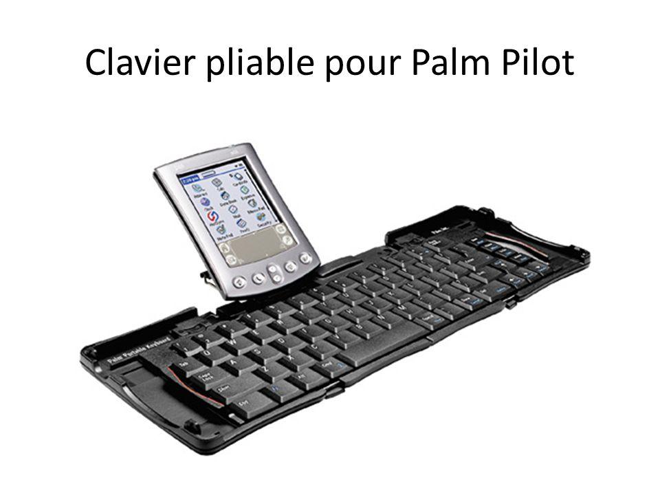 Clavier pliable pour Palm Pilot