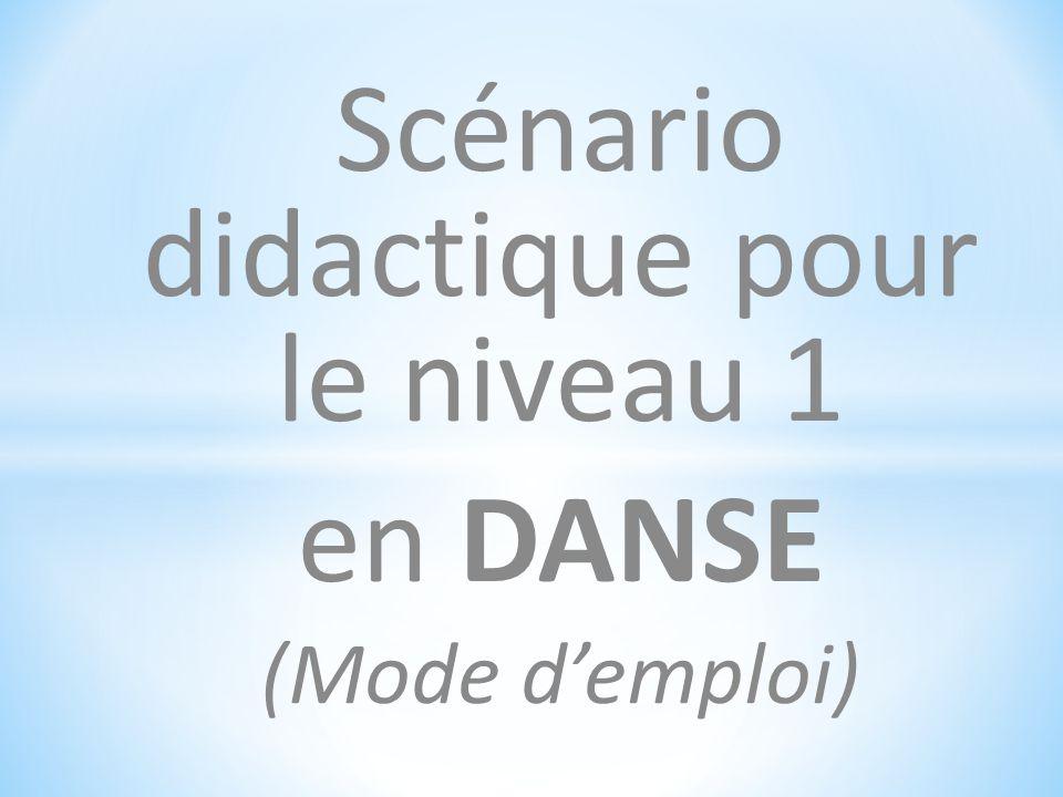 6) Le temps du spectateur Un groupe analyse la production d'un autre groupe selon les 3 étapes définies par la phrase chorégraphique.