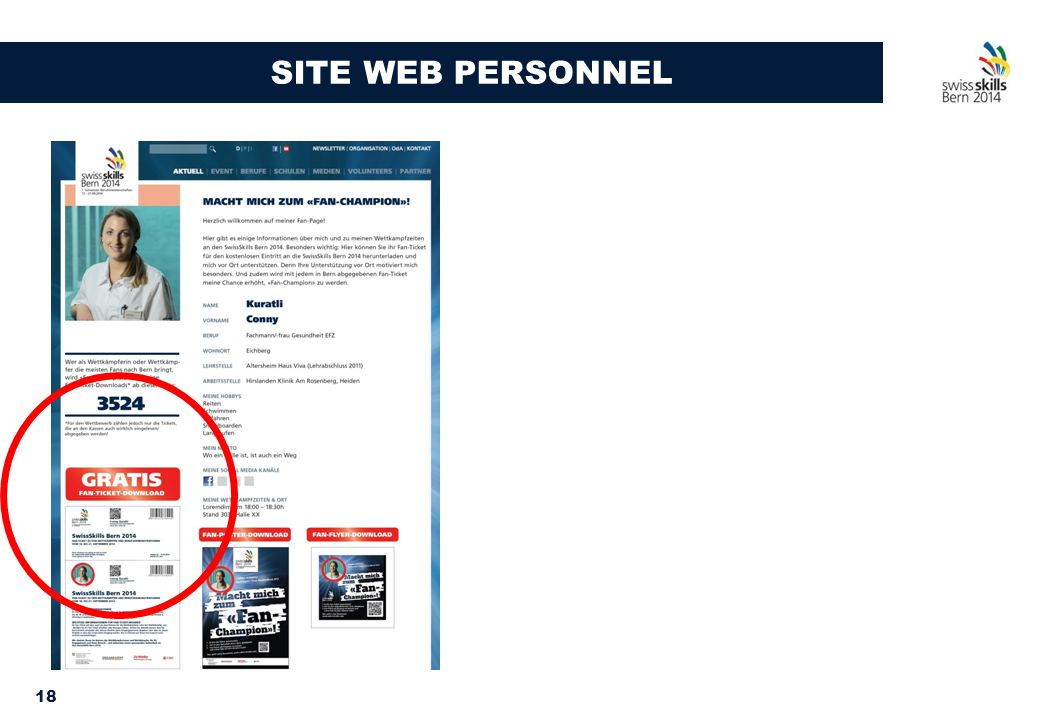 18 SITE WEB PERSONNEL
