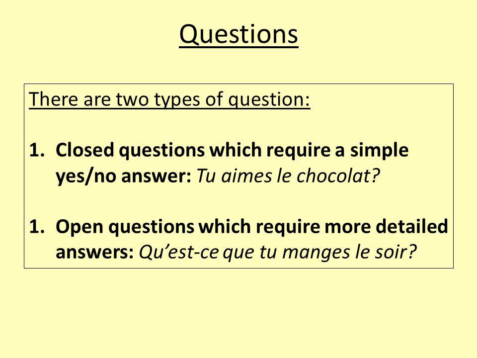 Question words Qui = Who/whom: Qui a pris le tire-bouchon.