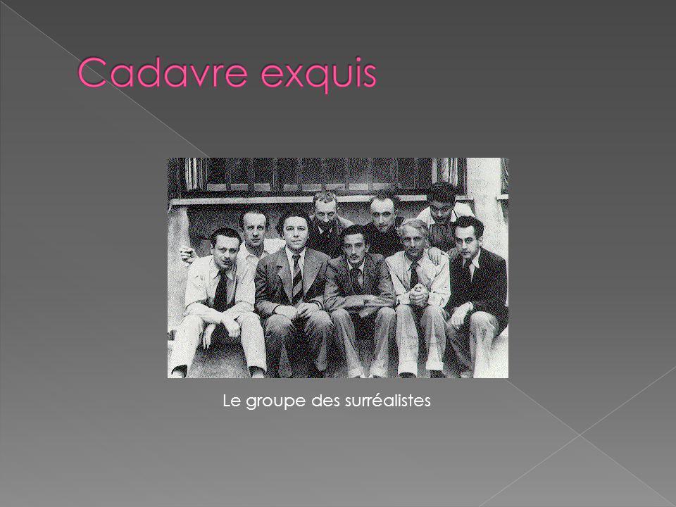 Le groupe des surréalistes