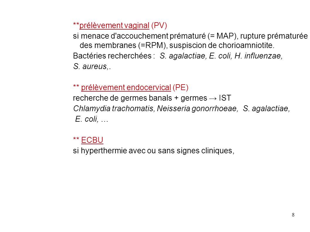 29 Sites utilisés : * Streptocoques : anne.decoster.free.fr * site de microbiologie médicale www.microbe-edu.org * prévention des risques foetaux:infections bactériennes et grossesse Imm.univ-lyon1.fr/internat/download/item20 * Remic : bacterioweb.univ-fcomte.fr/bibliotheque/remic