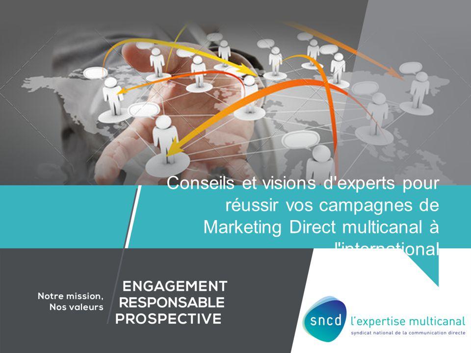 Conseils et visions d'experts pour réussir vos campagnes de Marketing Direct multicanal à l'international