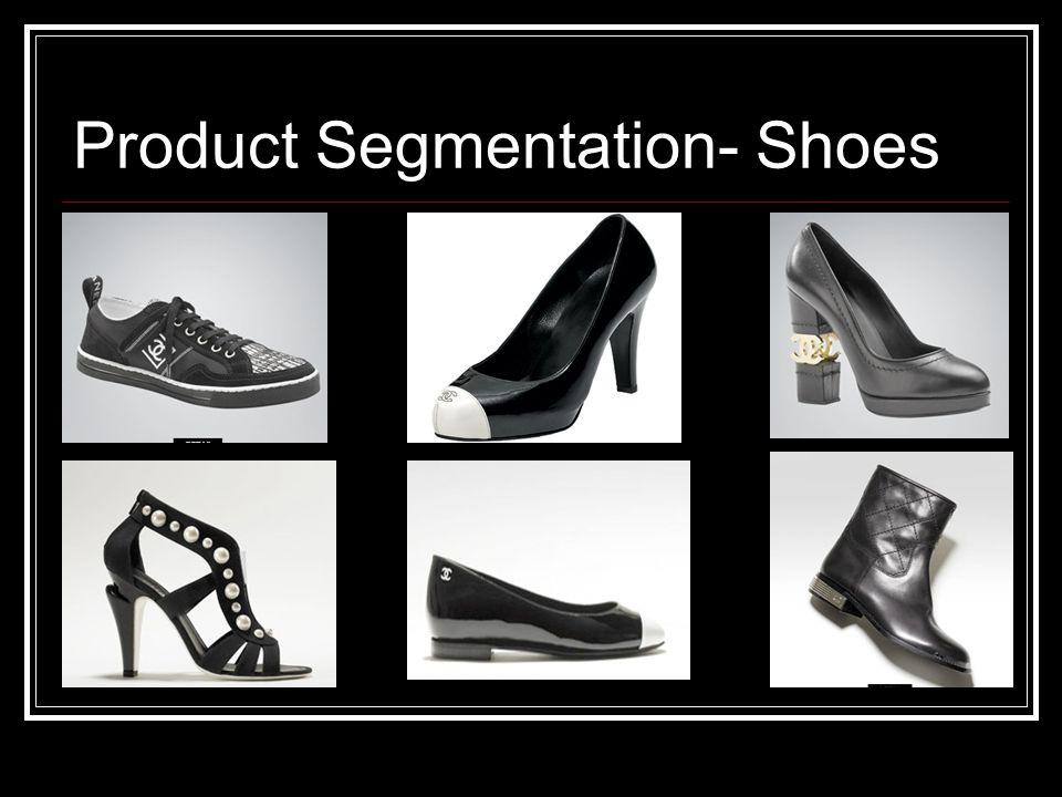 Product Segmentation- Shoes