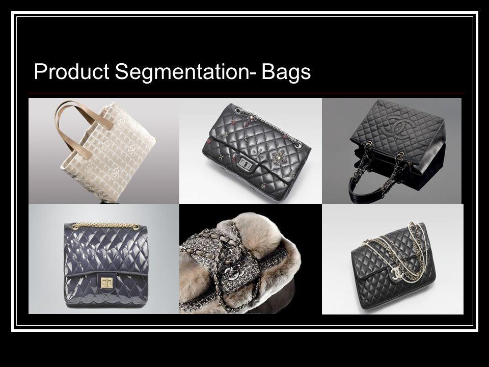 Product Segmentation- Bags