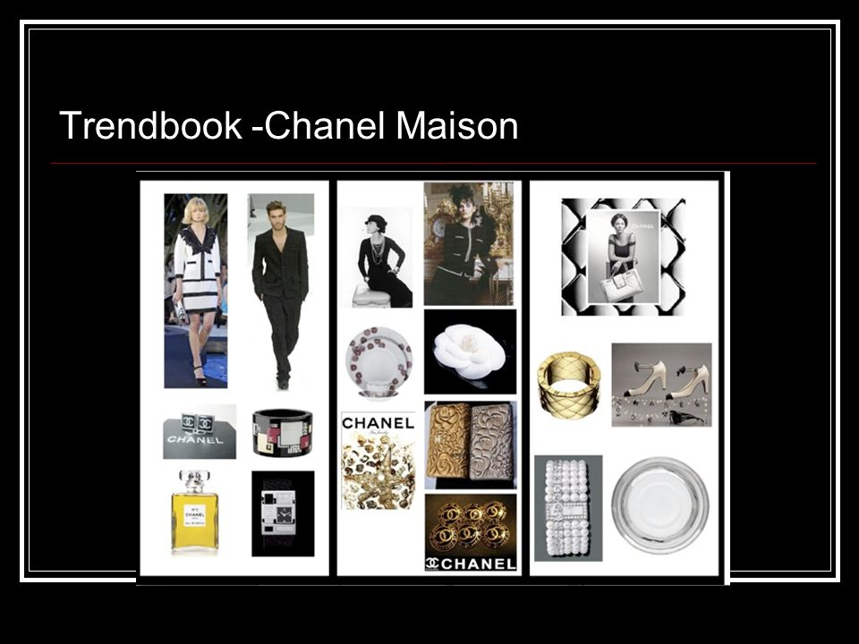 Trendbook -Chanel Maison