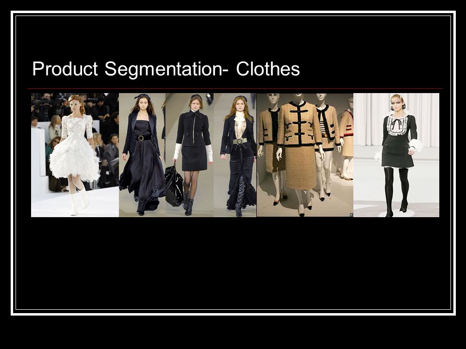 Product Segmentation- Clothes